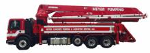 Schwing 39 Meter Boom Pump